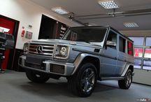 Matt NANO Karosszéria védelem Film - Mercedes G 350 d / fólia, karosszéria védelem, garázs, luxus, autó, 3m , Hexis, PPF nano,