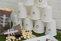 Rjs birthday / Football theme