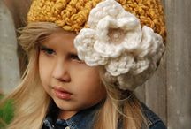 Toucas em crochet