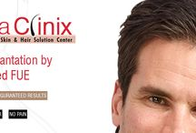 Hair Transplantation / DermaClinix specializes in providing hair transplantation treatment, laser hair removal, anti-aging, and skin care treatment. These treatments are carried out at our Clinic by highly qualified doctors or Under their able guidance by Professionally qualified technicians