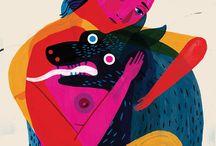Keith Nagley - illustrator / by Alessandro Bonaccorsi