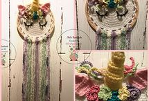 CROCHET - Dreamcatchers / Made to Order~Some stock Items Available~Prices start from $5AUD (P.O.A) Worldwide Shipping (P.O.A)