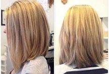 Medium length hairs