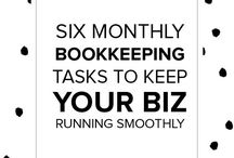 Small businesses bookkeeping