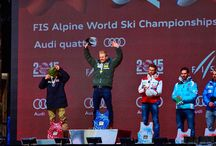 Vail Beaver Creek 2015 Men's Giant Slalom / Ted Ligety won Gold for the USA in Giant Slalom! It was the first gold for the U.S. Ski Team at the Vail Beaver Creek 2015 World Championships! Congratulations to Marcel Hirscher who took silver and Alexis Pinturault who took bronze! #tedtheshred #usa #vail2015