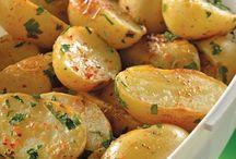 Receta ensaladas y papas