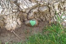 VALENTINE NATURE KIDS CRAFTS / Nature Valentine crafts for kids.