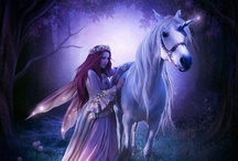 Unicorns, Faries, and Mermaids / by Victoria Chapin