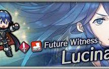 Fire Emblem: Lucina 물의 상징 : 루시나