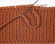 Tech knitting