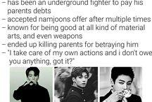 BTS assassin au