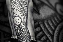 -Man's tattoo-