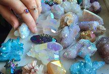 crystals, stones, & gems