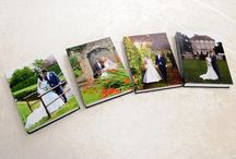 Headlam Hall wedding books / We love Headlam Hall and have made some seasonal books!