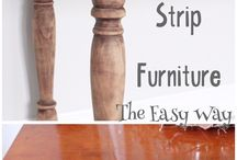 Stripping and Bleaching Furniture