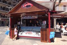 Kiosco del Port de Pollença I Gelats Valls / El nostre Kiosc en el Passeig del Port de Pollença: Passeig Anglada Camarasa, 15-1