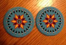 Native beadwork