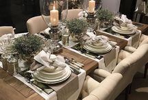 Dining rooms and tables