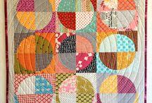 Quilts med sirkler