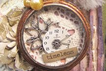 Tim Holtz pocketwatch ideas