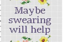Personal Cross Stitches