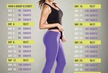 Fitness schedule / by Stephanie Ecarnot