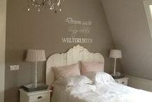 Slaapkamer / Mooie slaapkamer ideeën