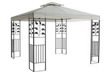 Gazebo Tent Outdoor Metal Marquee Canopy Family Shelter Shade Garden Patio Home