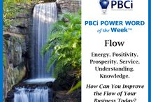 PBCi POWER WORD of the Week / Positive Power Words designed to motivate, inspire, and encourage awareness of your business and entrepreneurial journey.
