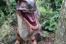 Dinosaurs at Paradise Park in Hayle, Cornwall UK #paradiseparkcornwall