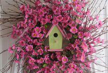 wreath summer/spring