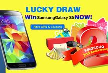 Anniversary KingSouq / Free Shipping site wide & Win Samsung Galaxy S5 Lucky Draw! KingSouq 2nd Anniversary! http://www.kingsouq.com/win-samsung-s5-now.html?utm_source=twitter