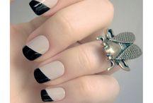 nagels nail art / nieuwe kleuren