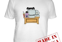 NCIS and NCISLA Gifts / NCIS and NCIS LA graphic art designed by TheTshirtPainter.  T-Shirts, Sweatshirts, iPhone cases, sleeves, skins, blankets, bedding, shower curtains and more. Gibbs, Abby, Tony, Ziva, McGee, Sam, Callen, Deeks, Kensi and more cast designs.  http://www.cafepress.com/profile/thetshirtpainter  -search NCIS