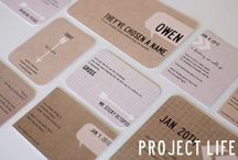 Project Life: Inspiration