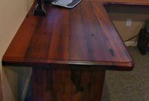 Custom Wood Desktop