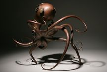 Biomechanical Sculptures