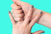 Finger drücken