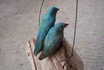 Πουλιά από  φελο