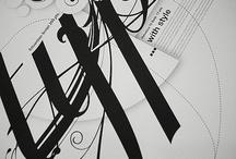 Calligraphy / Scrivere è una malattia, come la perla. R.  / by Silvana Camusso