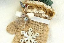 Burlap and crafts / all about burlap