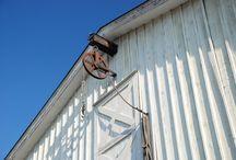 Hoist to storage area above garage