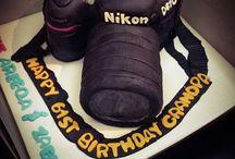 Camera Cake / all cakes inspired by cameras /DSLR / Nikon/ Canon.