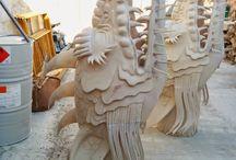 Moulds for sculpture / MOLDES DE SILICONA PARA ESCULTURA