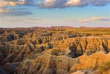 ND Badlands / A beauty learned, cherished, and respected. Wonderful sunsets. / by Nanette