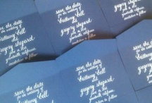 Calligraphy Love / Calligraphy for invitations, envelopes, and art.