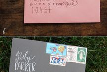 Invitations/envelopes