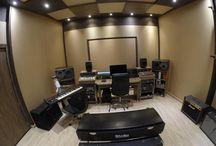 Estúdio Residencial de Ensaios e Gravação - em Sorocaba -SP / Estúdio projetado para ensaios,  gravações e mixagens