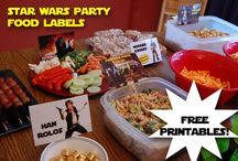 Star Wars dinner party