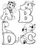moldes alfabeto com animais